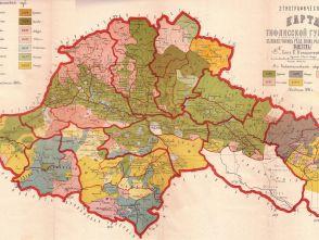 Этнографические карты Российской Империи и Советского Союза