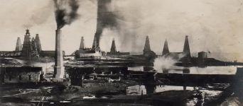 Балаханские нефтепромыслы Баку в 1880-1912 годах (36 ФОТО)