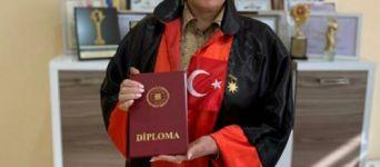 Səkinə Babayeva Türkiyənin fəxri doktoru oldu